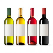 Водорастворимая бумага для этикеток на бутылки алкогольных напитков