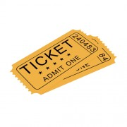 Водорастворимая бумага для билетов